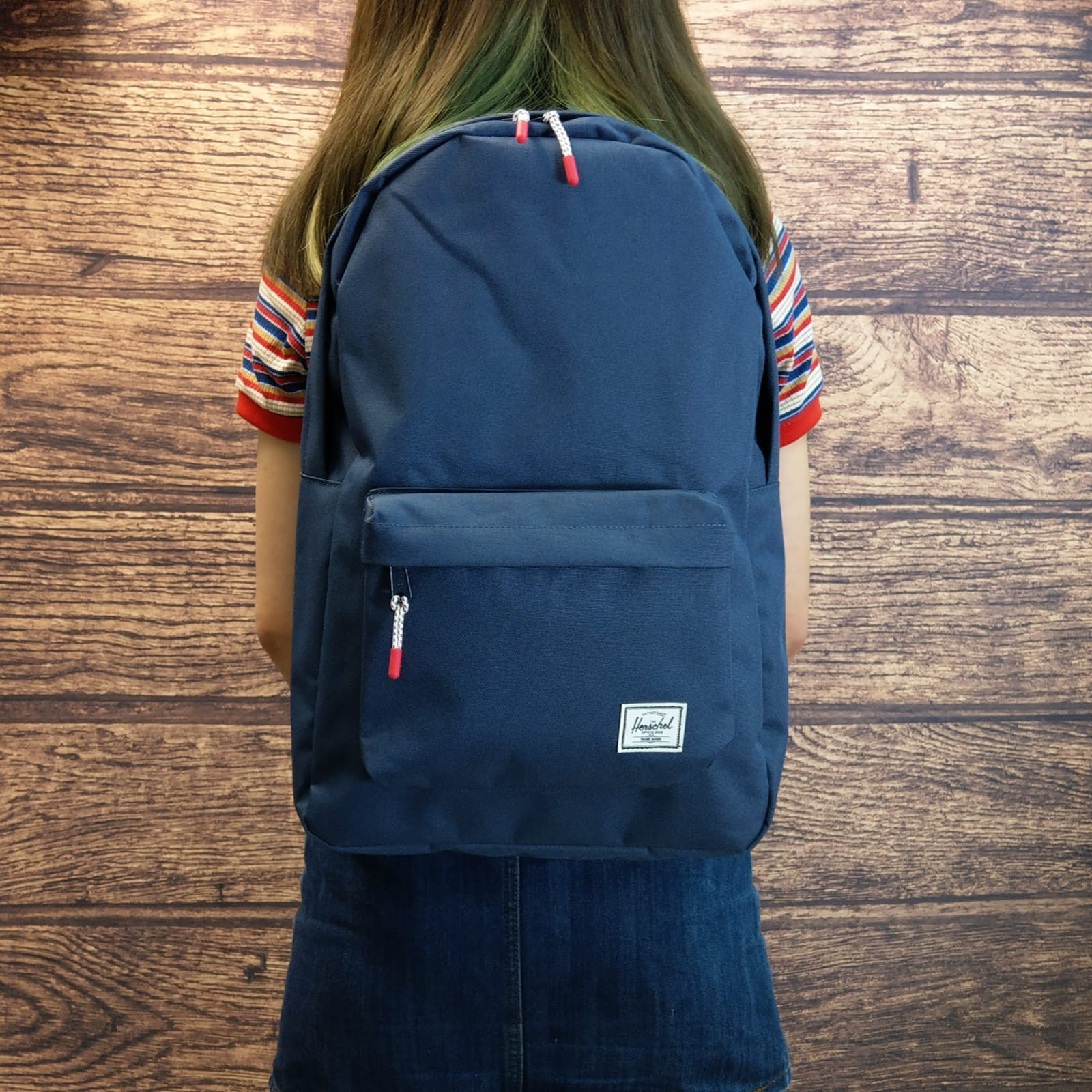 0daca091ca6d5 Herschel Supply Co. Classic Backpack 背囊海軍藍色Navy 10500-00007 ...